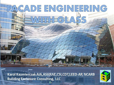 facade engineering with glass